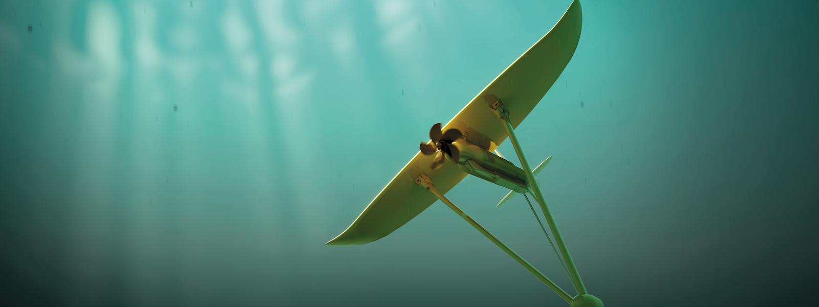 Hydrolienne cerf-volant de Minesto