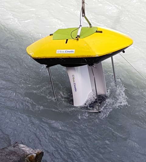 Hydrolienne EcoCinetic Hydrobox