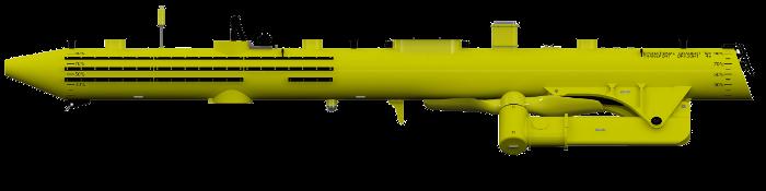 Hydrolienne SR2000 en mode transport