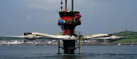 Hydrolienne Seagen de MCT (Marine Current Turbines) en 2008