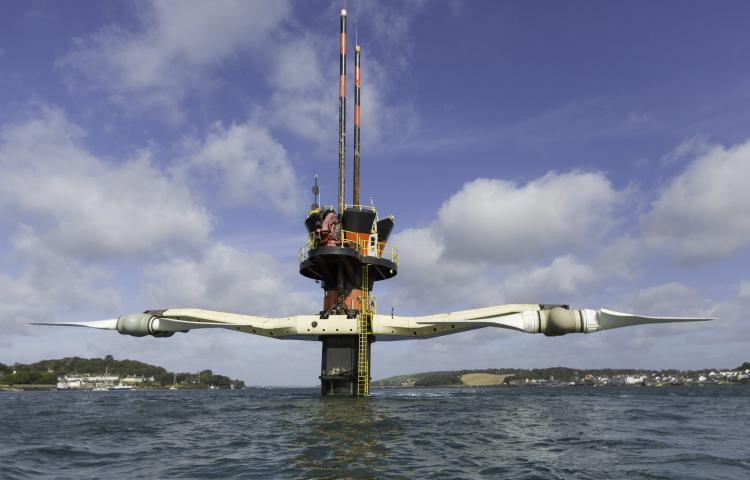 Hydrolienne Seagen 1.2 MW d'Atlantis (appartenait avant à MCT)